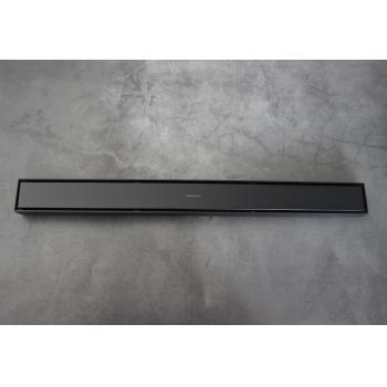Душевой Магнитный Лоток черный с сухим затвором MAGdrain JXC600-O